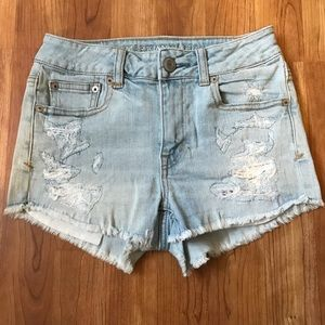 American Eagle Outfitters Denim Jean Shorts Sz 0